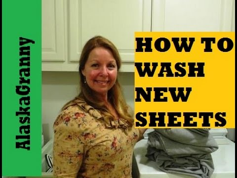 How To Wash New Sheets
