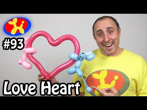 Love Heart - Balloon Animal Lessons #93