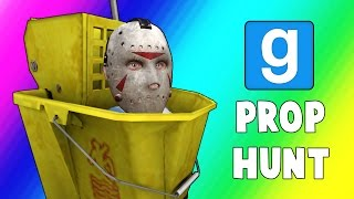 Gmod Prop Hunt Funny Moments - Filing Cabinet Jukes! (Garry