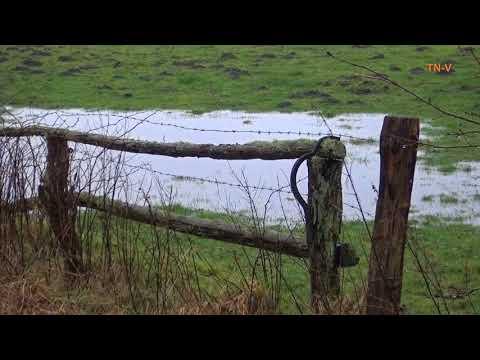 Das Land ist ein nasser Schwamm