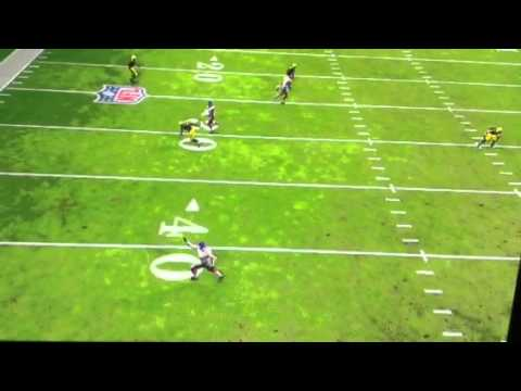 Madden NFL 25 - CB Tracking Multiple Receiver