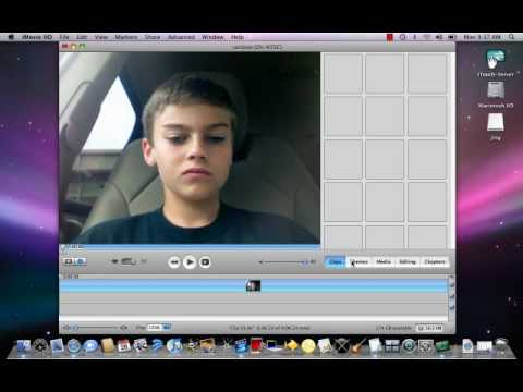 How to add sound effects on imovie HD