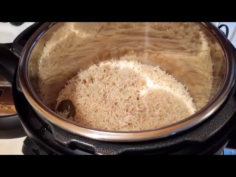How to make Brown Basmati Rice in the Instant Pot