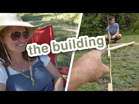 Be Square - How To Square a Building Foundation (a very visual method)