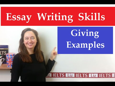 IELTS Writing Tips: How to Put Examples in Your Essay
