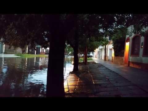 RESISTENCIA CHACO INUNDADA 2017 AV BELGRANO