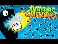 JUGANDO ANTIGUOS CHALLENGES DIFÍCILES | GEOMETRY DASH | VRO
