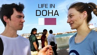 Download Asking People About Life In Doha, Qatar Video