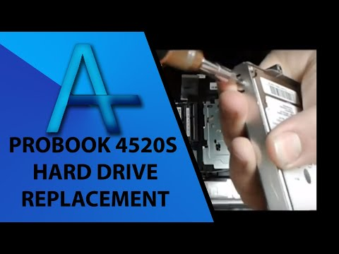 HP Probook 4520s Hard Drive Replacement