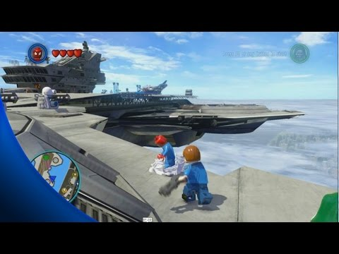 All Gold Bricks - S.H.I.E.L.D Helicarrier - LEGO Marvel Super Heroes