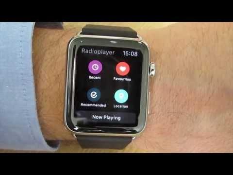 Radioplayer on Apple Watch