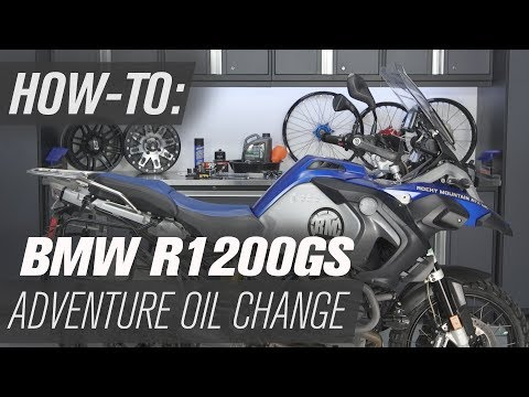 How To Change The Oil On A BMW R1200GS Adventure