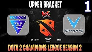 Tundra vs V-Gaming Game 1   Bo3   Upper Bracket Dota 2 Champions League 2021 Season 2