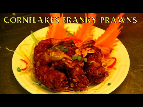 Cornflake Prawns Recipe