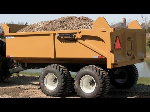12 Ton Heavy Duty Farm Dump Trailer by Berkelmans Welding and Custom Manufacturing Inc.