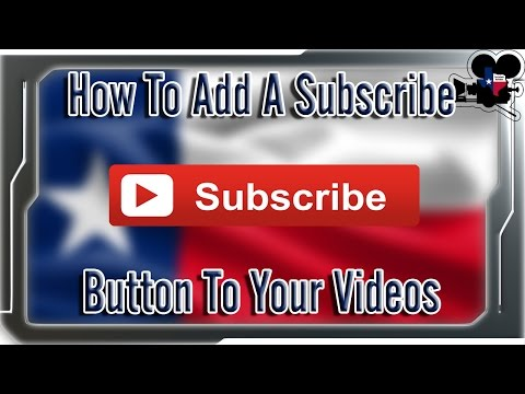 How To Add A Subscribe Button Annotation To Your Videos