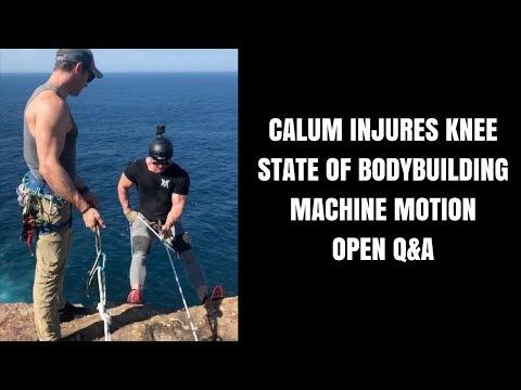 Marc Lobliner Live Q&A - Calum Von Moger Injury, State of Bodybuilding