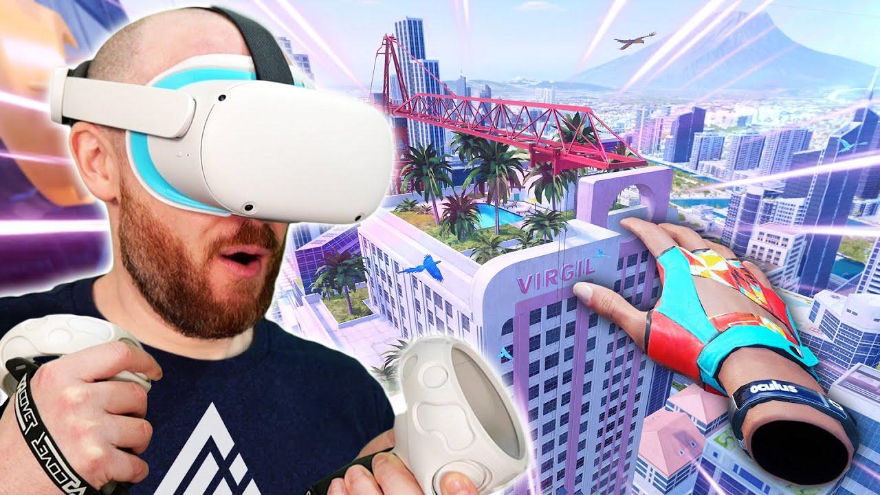 The Climb 2 On Oculus Quest 2 - Climbing A SKYSCRAPER In VR!