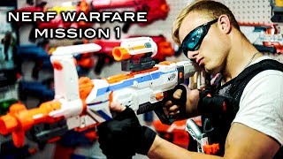 Nerf meets Call of Duty: Campaign   Mission 1 (Nerf Warfare)