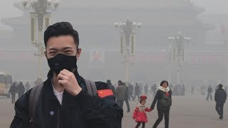 How bad is the air pollution in Beijing, China?