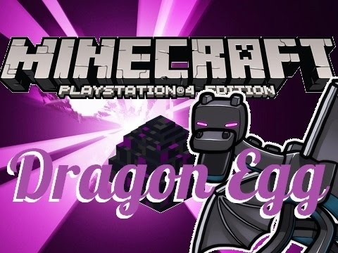 Minecraft PS4 - HOW TO GET DRAGON EGG - TUTORIAL