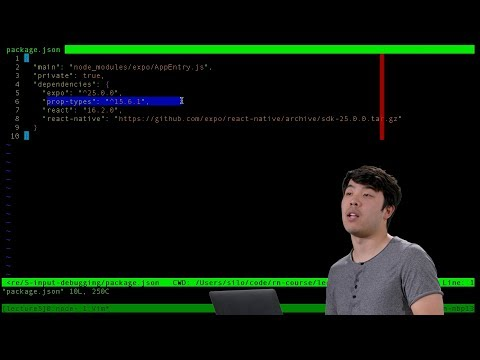 User Input, Debugging - Lecture 5 - CS50's Mobile App Development with React Native