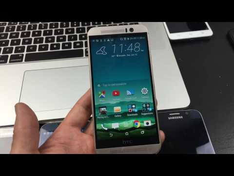 HTC One M9: How to Enable Developer Options / USB Debugging Mode
