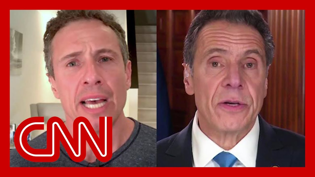 Chris Cuomo shares picture that embarrasses brother