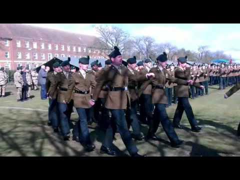 1st Battalion the Royal Irish Regiment St Patrick's Day Parade
