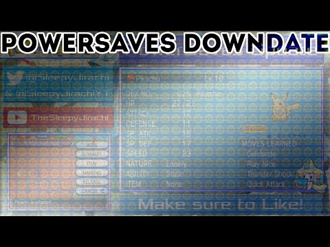 PowerSaves Downdate: IV Codes Removed