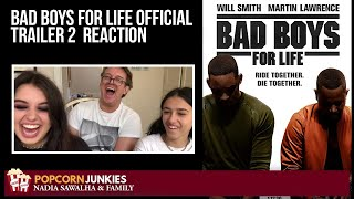BAD BOYS FOR LIFE (Official Trailer 2) The Popcorn Junkies FAMILY Reaction