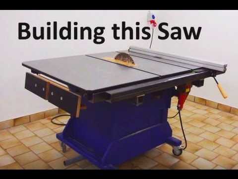 Building a Big Table Saw | Homemade Table Saw | How To