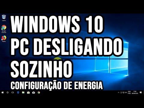 Computador desligando sozinho com Windows 10