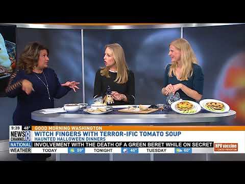 Healthy Halloween Meals: Jessica on Good Morning Washington