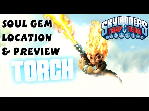 Torch Soul Gem Preview and Location 1080P 60 fps - Skylanders Trap Team