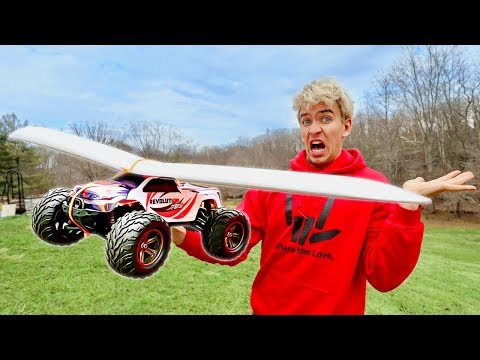 BUILDING FLYING RC CAR - WILL IT FLY?!