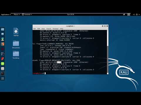 How to Change /Spoof your MAC Address in Kali Linux