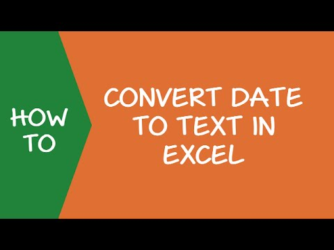 How to Convert Date to Text in Excel (Explained with Examples)