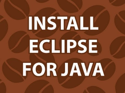 Install Eclipse for Java