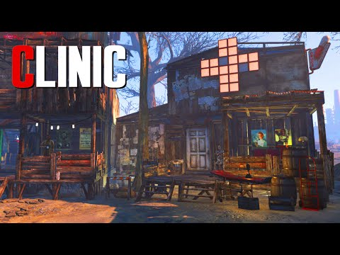 Fallout 4 Settlement Build: Clinic