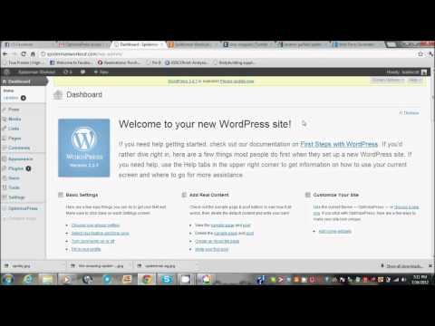 How to set up a wordpress site with godaddy and hostgator