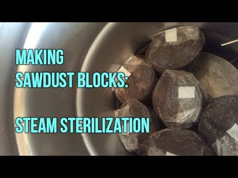Part 2: Making Sawdust Mushroom Fruiting Blocks-Sterilization Process