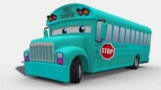 kids channel   passenger bus   3D   street vehicle