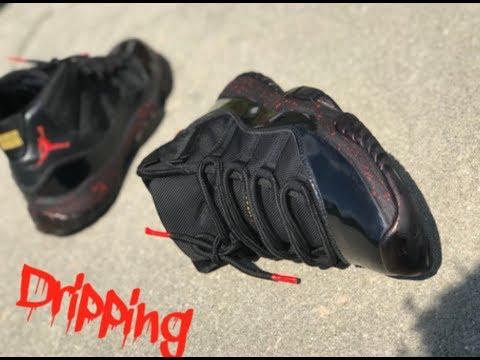 Custom Jordan Retro 11