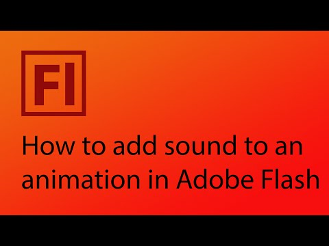 Adding sound to your animation in Adobe Flash CS6