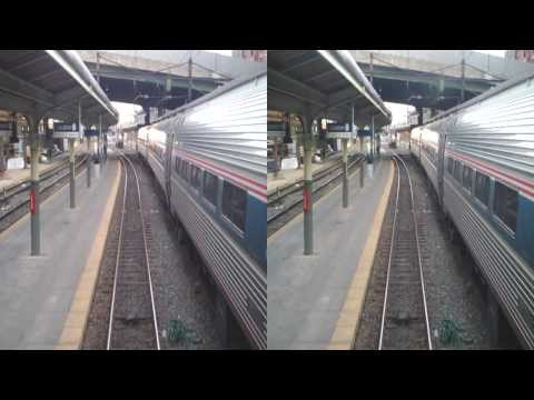 Arriving at Union Station in Washington, DC (3D)