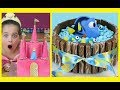 AMAZING KIDS BIRTHDAY CAKES COMPILATION Disney princess BARBIE  CINDERELLA ARIEL