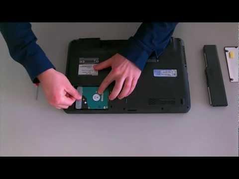 Toshiba L750/L755/L750D/L755D Series: HDD Replacement