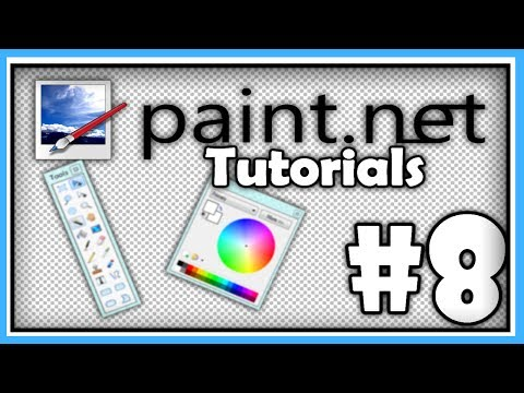 PAINT.NET TUTORIALS - Part 8 - Changing Eye Colour and Selection Tools