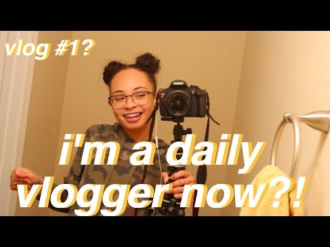 I'm a Daily Vlogger Now?